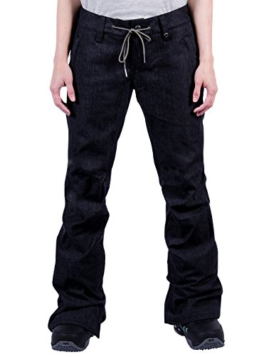 Nitro Damen Snowboard-Hose Tate W Pant 15, Black Denim, S