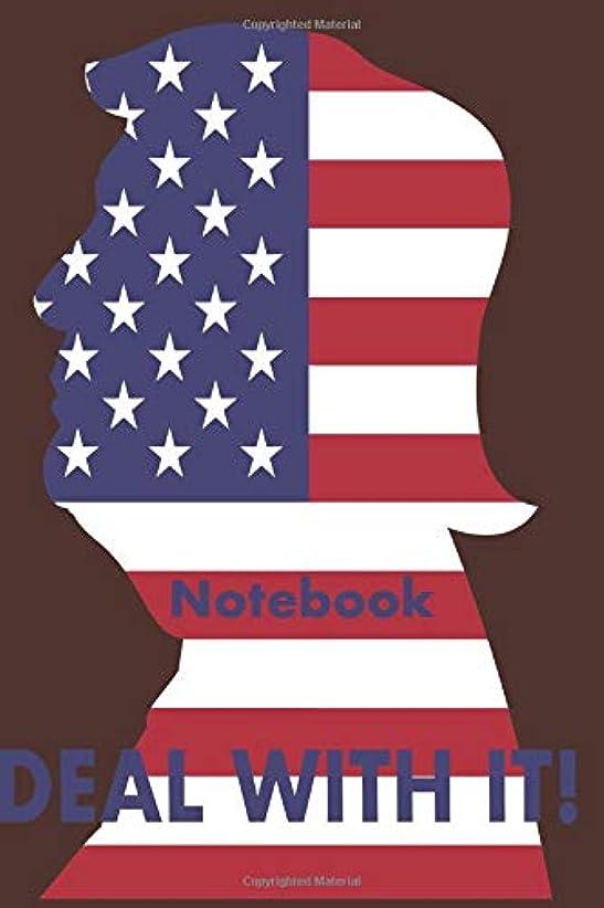 穴グリーンランド準備ができてNotebook DEAL WITH IT.: Deal with things Donald Trump style and take notes