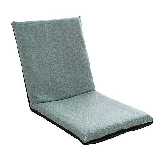 LJFYXZ Canapé Paresseux Chaise Canapé Multifonctionnel Pliable Facile à enlever et à Laver Simplicité Moderne Salon Chambre (Couleur : Green)