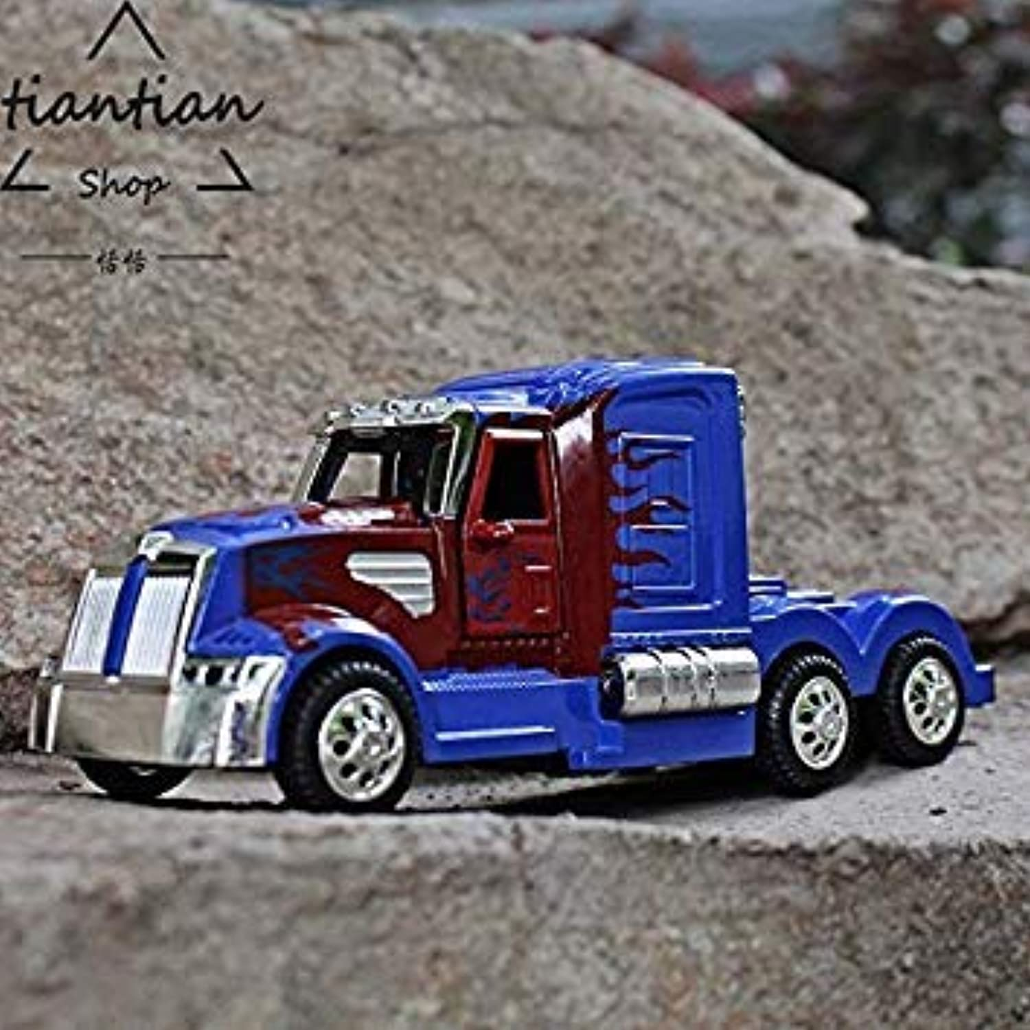 MZ Kids Toys 1 32 Truck Car Model Metallic Material Collection Decoration Open The Door Sound Lights