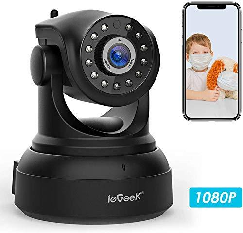 classement un comparer Caméra IP Wi-Fi, caméra CCTV sans fil HD IEGeek 1080P, caméra CCTV…