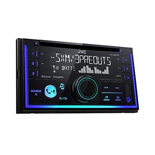 JVC KWR930BT Car Stereo - Double Din, Bluetooth, CD,MP3/USB AM/FM Radio, Multi Color Illumination