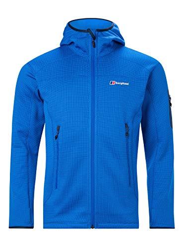 Berghaus Herren Pravitale Mountain 2.0 Hooded Fleece-Jacke, Jeansjacke, XL