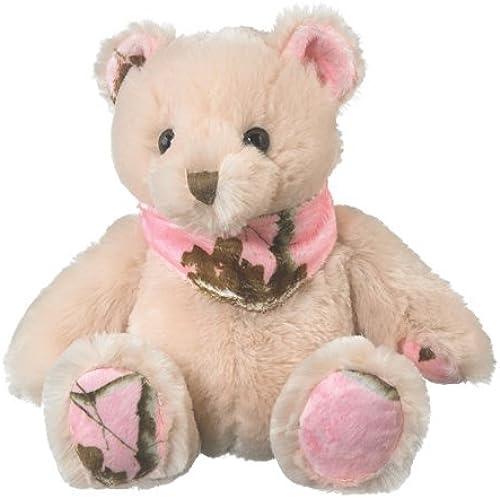 Realtree APCRosa Camo Stuffed Animal Teddy Bear Plush Rosa Camouflage