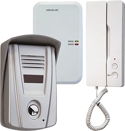 Preisvergleich Produktbild Smartwares Türgegensprechanlage mit Türöffner-Funktion für 1 Teilnehmer - Funkreichweite bis zu 100 Meter