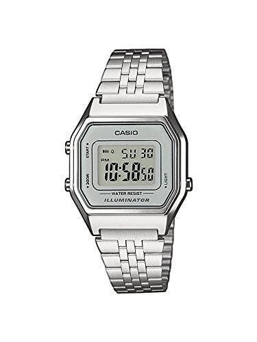 Casio Collection Damen Retro Armbanduhr LA680WEA-7EF