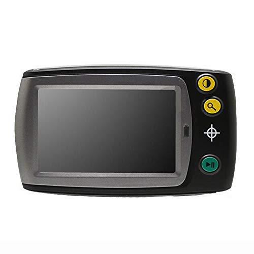 JL 4.3-Zoll LCD-Videolupe Tragbar Digitale Lupe 6X-25X Zoom 7 Farbmodi Handheld Elektronische Lesehilfe für Sehbehinderte