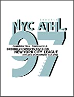 【ブルックリン ニューヨーク NYC】 余白部分にオリジナルメッセージお入れします!ポストカード・はがき(白背景)