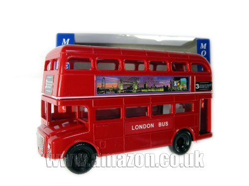 London Souvenir Large Big Red Bus Money Box Made of...