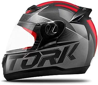 Pro Tork Capacete Evolution G7 60 Preto/Vermelho