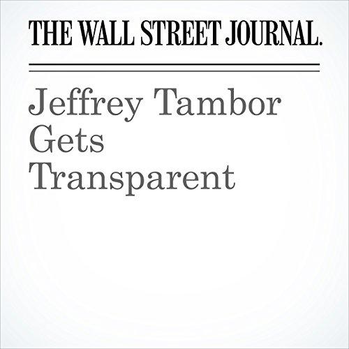 Jeffrey Tambor Gets Transparent audiobook cover art