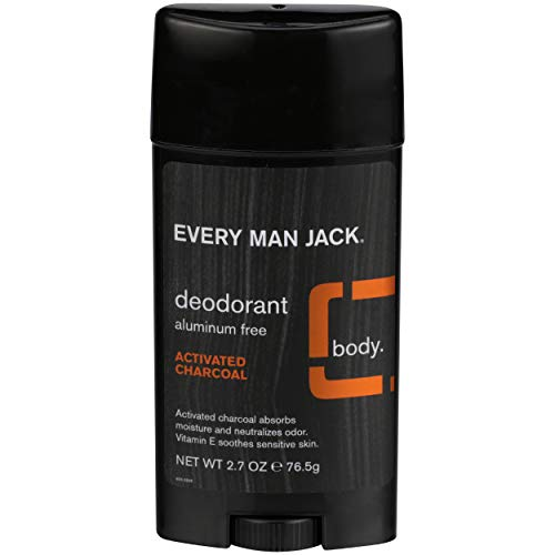 Every Man Jack Deodorant, Activated Charcoal 2.7 Oz