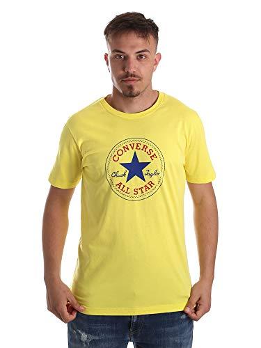 Converse 10017560-A02 Jersey Hombre Amarillo S