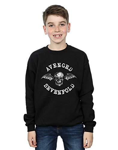 Absolute Cult Avenged Sevenfold Jungen Bat Sweatshirt Schwarz 5-6 Years