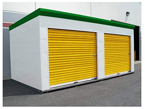 Affordable DuroSTORAGE 6'x7'4 850 Series MIAMI FL WIND CERTIFIED Steel Roll-up Door DiRECT