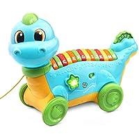 LeapFrog Lettersaurus Alphabet Pull Toy (Teal)