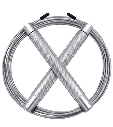 RDX Skipping Rope Adjustable Steel Gym Jump Speed Lose Weight Gymnastics Fitness MMA Boxing Jumping Metal Cable Training Workout Exercise