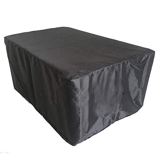 YANJ Fundas para Conjuntos de Muebles,Juego de Comedor para Exteriores Cubierta,/ a Prueba de Viento/Impermeable/Anti-UV (尺寸) (213 * 132 * 74 cm)