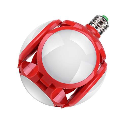 Fasclot 40W E27 Deformable Garage Light Folding Bulb LED Light Football UFO Lamp Gifts Home & Garden Led Light