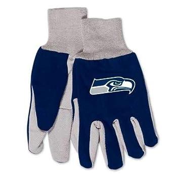 NFL Seattle Seahawks Kids Two Tone Gloves
