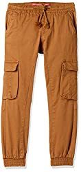 Chalk By Pantaloons Boys Cargo Regular Fit Trousers