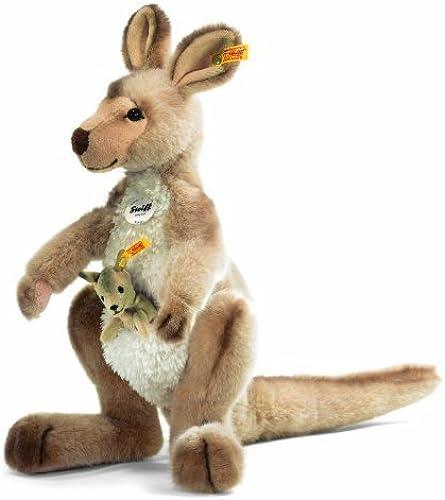 Steiff Kango Kangaroo With Baby (Beige) by Steiff
