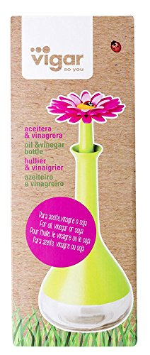 VIGAR Flower Power Oliera Verde/Magenta