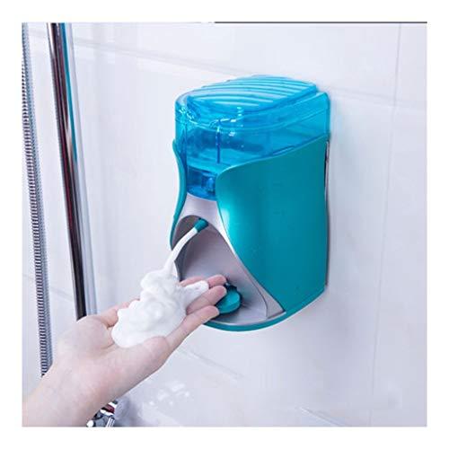 dispensador de jabón Bomba de jabón Escritorio Dispensador de jabón, de Pared Botella de la loción ABS Bomba de jabón Gel de Ducha/champú jabón de la Botella con Pilas de la Botella de líquido