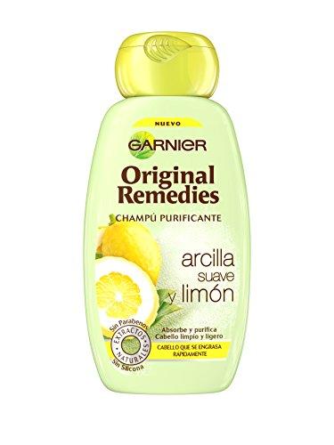 Garnier Original Remedies Arcilla Suave y Limón champú para pelo graso - 250 ml