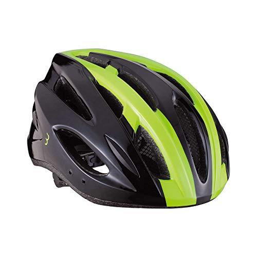 BBB Cycling Unisex-Adult Fahrradhelm Condor | Damen und Herren | Abnehmbaren Visier und Insektenschutznetz | MTB und Rennrad | BHE-35 | Schwarz/Neongelb M (54-58 cm), black/neon yellow