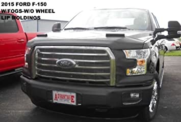 Black Covercraft LeBra 55586-01 Front End Cover Ford F-Series ...