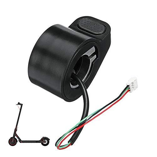 Gobesty Acelerador de Pulgar Scooter electrico, Accesorios del Acelerador del Acelerador, Accesorios...