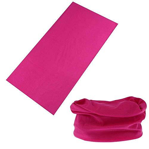 ROSA&ROSE Multifunctionele Balaclava Gezicht Sjaal Outdoor Wind Bewijs Hoofddeksels Nek Gaiter Bandana Tube Sjaal voor Sport Yoga Running Fietsen Wandelen
