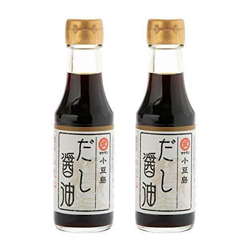 [タケサン] だし醤油 小豆島 150ml×2本 天然醸造丸大豆醤油(生搾醤油) を使用 ×2本