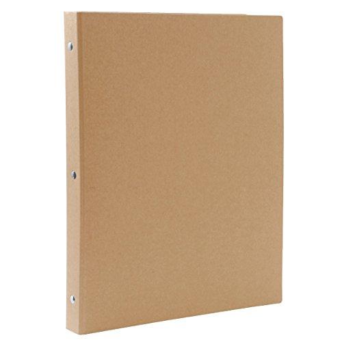 無印良品 再生紙バインダー A4・30穴・ベージュ