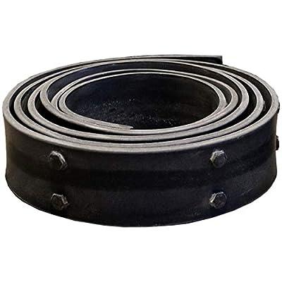 "Ekena Millwork BMSTRF03X144TRBL Flexible Black Strap w/Bolts for Ekena Faux Wood Beams, 3"" W x 144"" L"