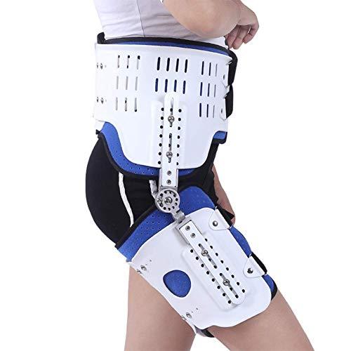 MYLW Bisagra para Adultos Órtesis de abducción de Cadera y Soporte estabilizador de Cadera para Reemplazos De Cadera Ciática Distensiones Musculares Cuádruples