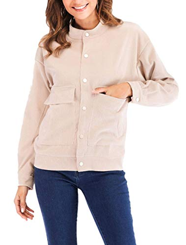Klasyczny płaszcz damski na wiosnę, jesień, długi rękaw, odzież wierzchnia Vintage Young Fashion Coat modna odzież Streetwear Swag, morela, XL