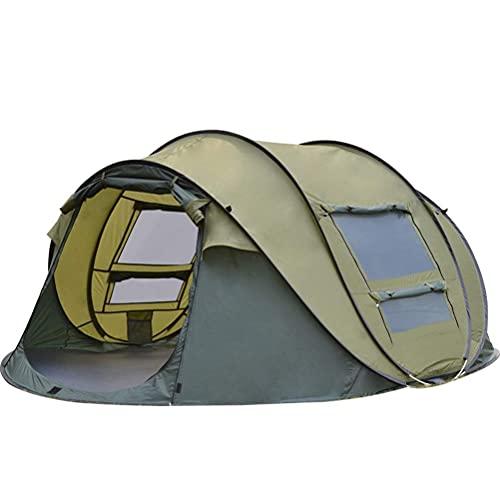Ankon Easy Pop Up Beach Sun Shelter Tienda Tienda emergente automática, 3-4 Persona Configuración al Aire Libre Instante Tienda 4 Temporada Impermeable Tienda para Senderismo, Camping, Viajar