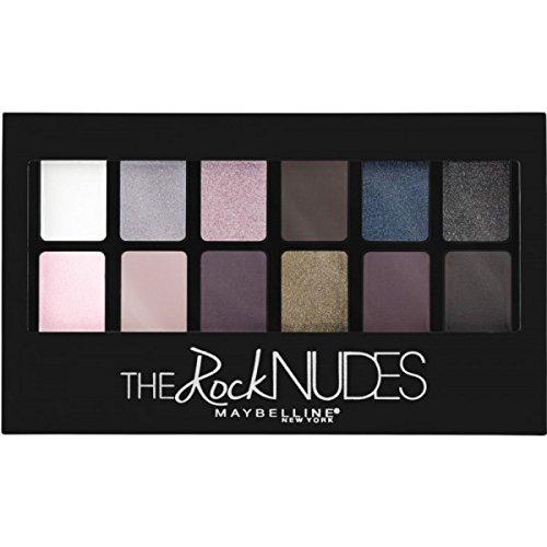 Maybelline New York Paleta de Sombras de Ojos The Rock Nudes
