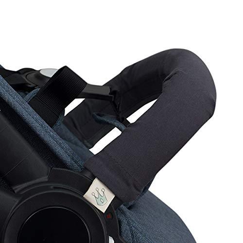 JANABEBE Housse pour Barre de Protection Poussettes (MARENGO, Unipersonnel)