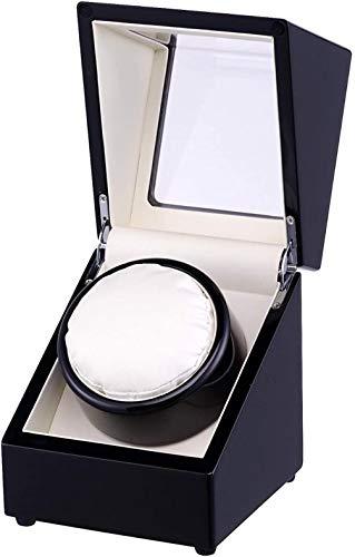 Alivisa Uhrenbeweger, Automatische Single/Uhrenbeweger/Display-Box für Einzel Uhr mit Quiet Mabuchi Motor -4-Modi 100% Handarbeit