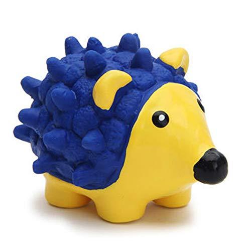AYADA Hundespielzeug Quietschs Spielzeug, Kauspielzeug Hund Interaktives Spielzeug Quietschspielzeug Hund Dog Toy Intelligenz Spielzeug für Hund Latex Spielzeug (Igel)