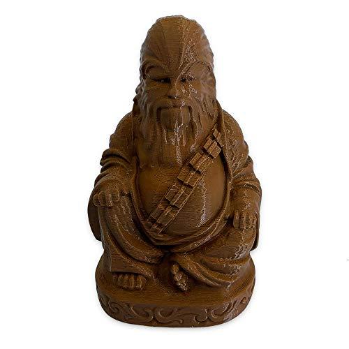 muckychris Chewbacca Buddha   Star Wars   Chocolate Brown 4'