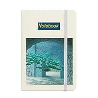 海洋魚の科学は自然の写真 ノートブッククラシックジャーナル日記A 5