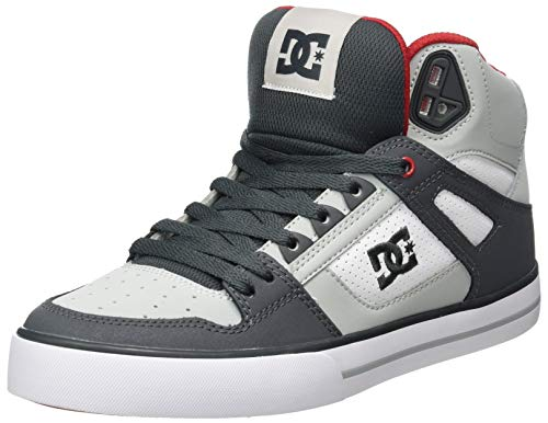 DC Shoes Pure Se - Chaussures Montantes - Homme - EU 41 - Gris