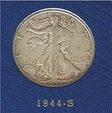 1944 S Walking Liberty Half Dollar Good or...