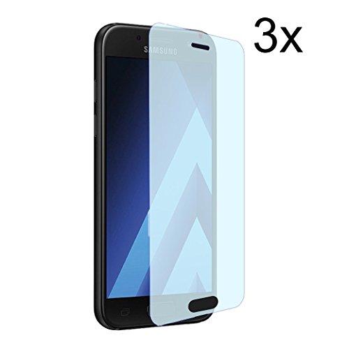 Cardana | 3X bruchsicheres Schutzglas für Samsung Galaxy A5 2017 | Schutzfolie aus 9H Echt Glas | angenehme Handhabung| Schutzglas zum Schutz vor Displayschäden | blasenfreie Anbringung | 3 Stück…