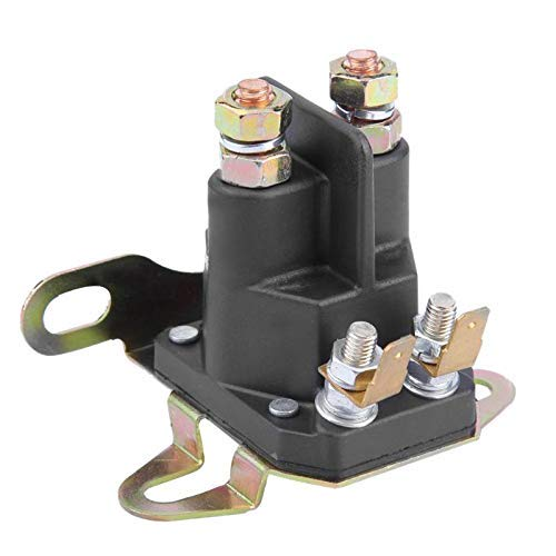 LUISONG FANMENGY Time Deay Relay 4-Pole Relay Motora Arrancador electromagnética Cortacésped Motor de Arranque for Briggs Stratton Motora Cortacésped Motor Parts