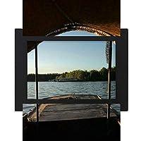 距離を調べる デスクトップフォトフレーム画像ブラックは、芸術絵画7 x 9インチ